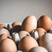 Microgreens and eggs